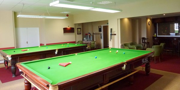 Main Snooker Room