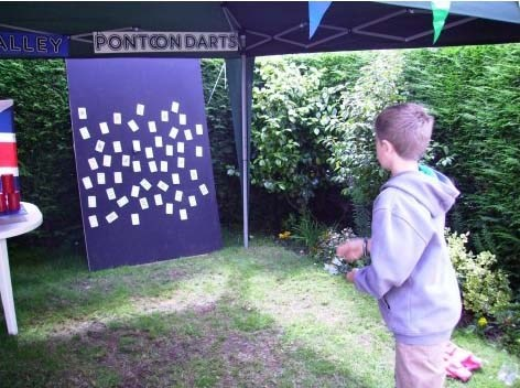 Darts at the 100 Years Celebration Athenaeum Club Falmouth