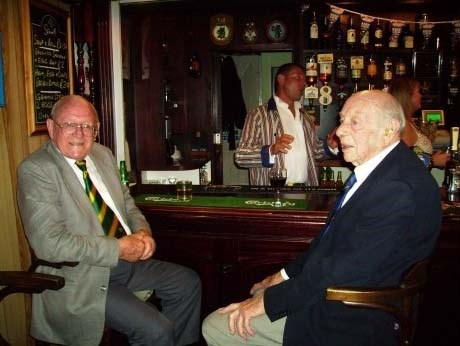Old Cricketers Celebrating 100 Years Athenaeum Club Falmouth
